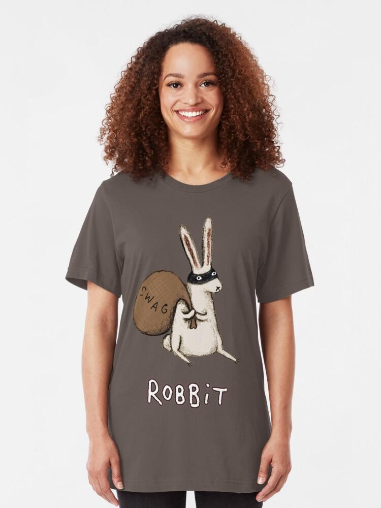 Alternate view of Robbit Slim Fit T-Shirt