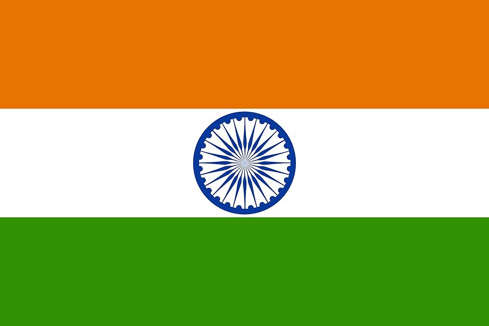 India Flag  by GraphicTraffic