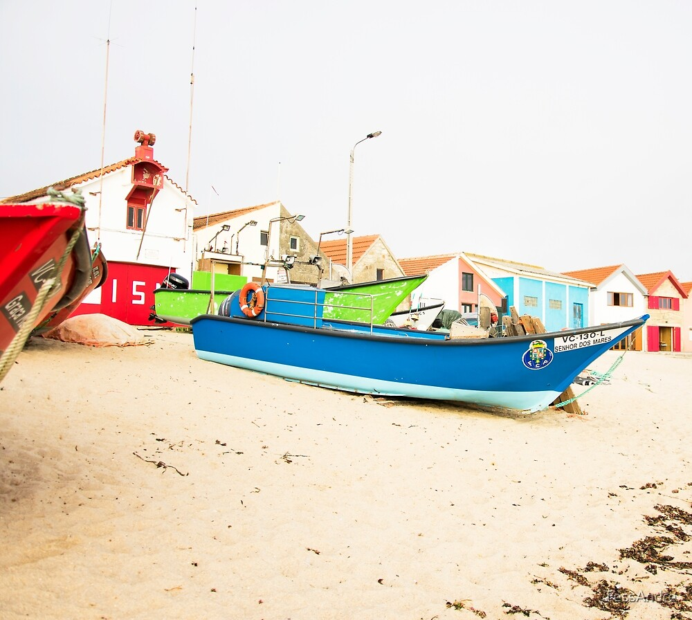 Fishing boats by TessAndre