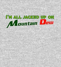 I'm all jacked up on Mountain Dew Kids Pullover Hoodie