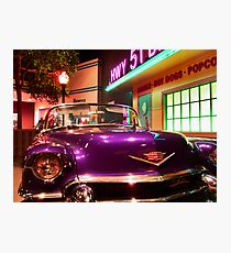 Elvis's pimp mobile in Cholo Photographic Print