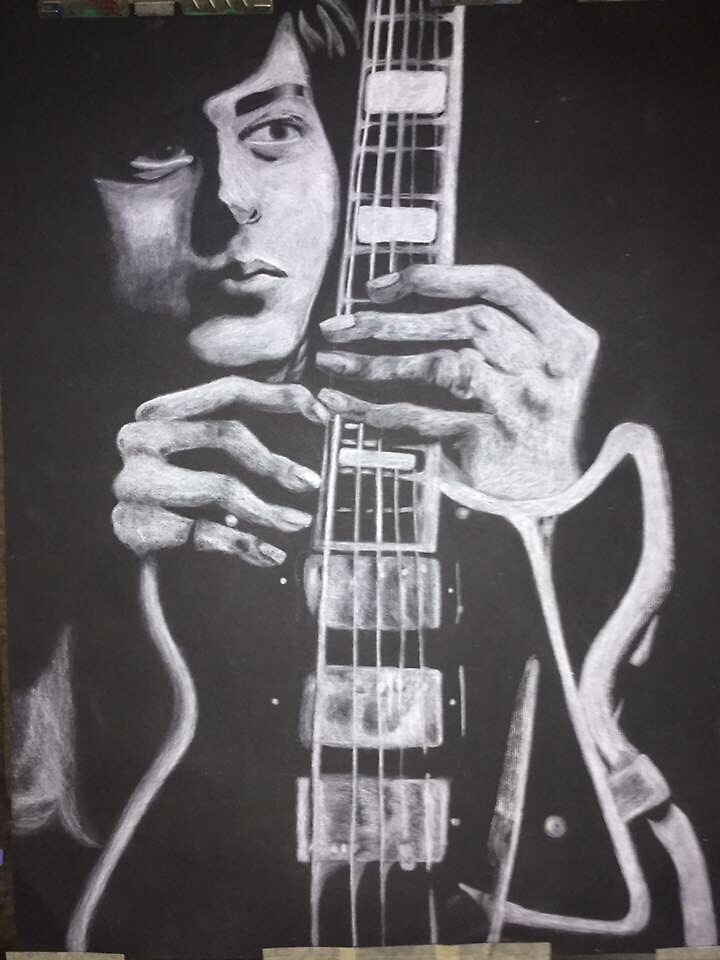 Jimmy Page  by DaisyNewsome