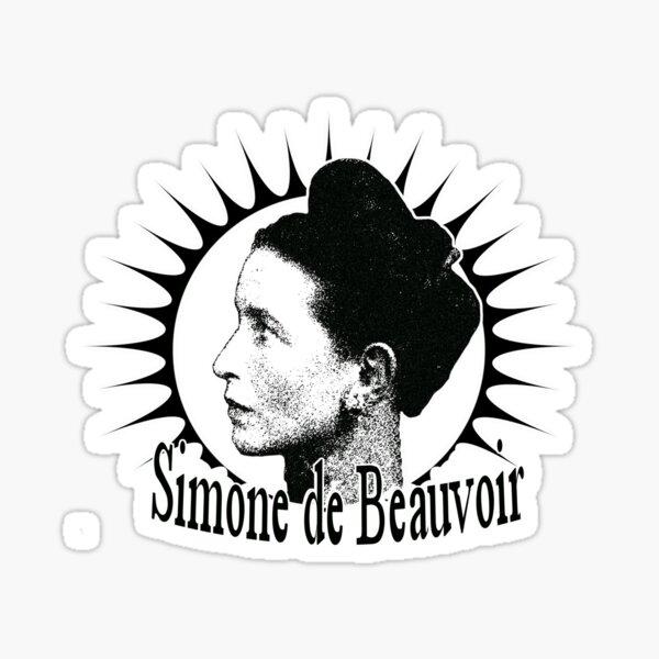 Simone de Beauvoir - She Came to Stay   Sticker