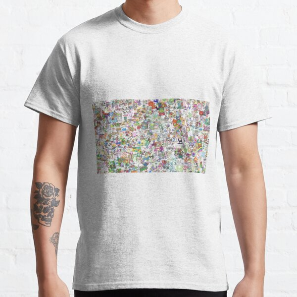 Player and Doodler Doodle Montage Classic T-Shirt