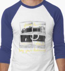 Polaroids Men's Baseball ¾ T-Shirt