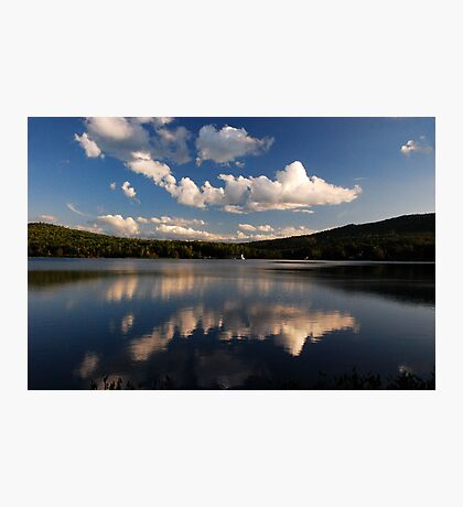 Dusk on Androscoggin River Photographic Print