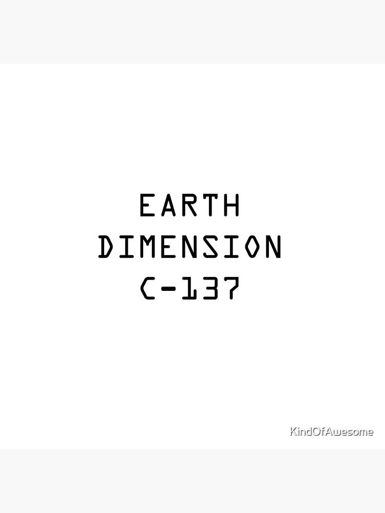 Dimensión de la Tierra C-137 de KindOfAwesome