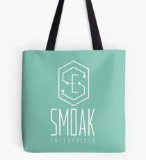 SE - Smoak Enterprises White  Tote Bag