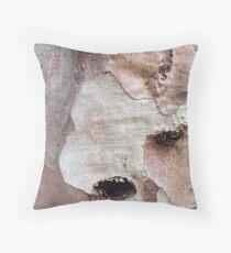 Menzies Creek Tree Bark 7 Throw Pillow