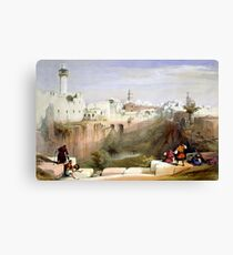 The Pools of Bethesda - Jerusalem Canvas Print