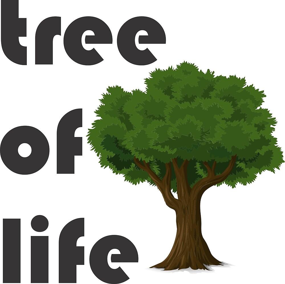 t-shirt tree, life by Wallace Silva