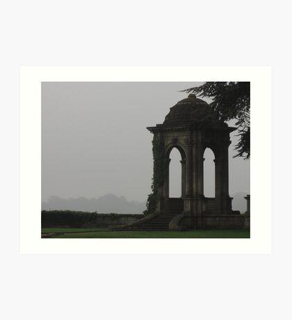 The Stone Pavilion Art Print