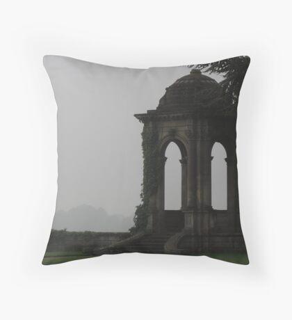 The Stone Pavilion Throw Pillow