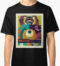 Monsters, Inc. - Retro poster Classic T-Shirt