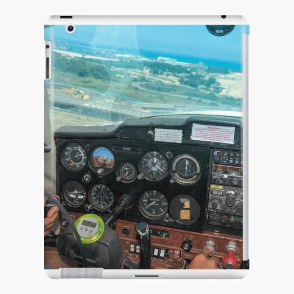 Pilot flying a Cessna plane  iPad Snap Case