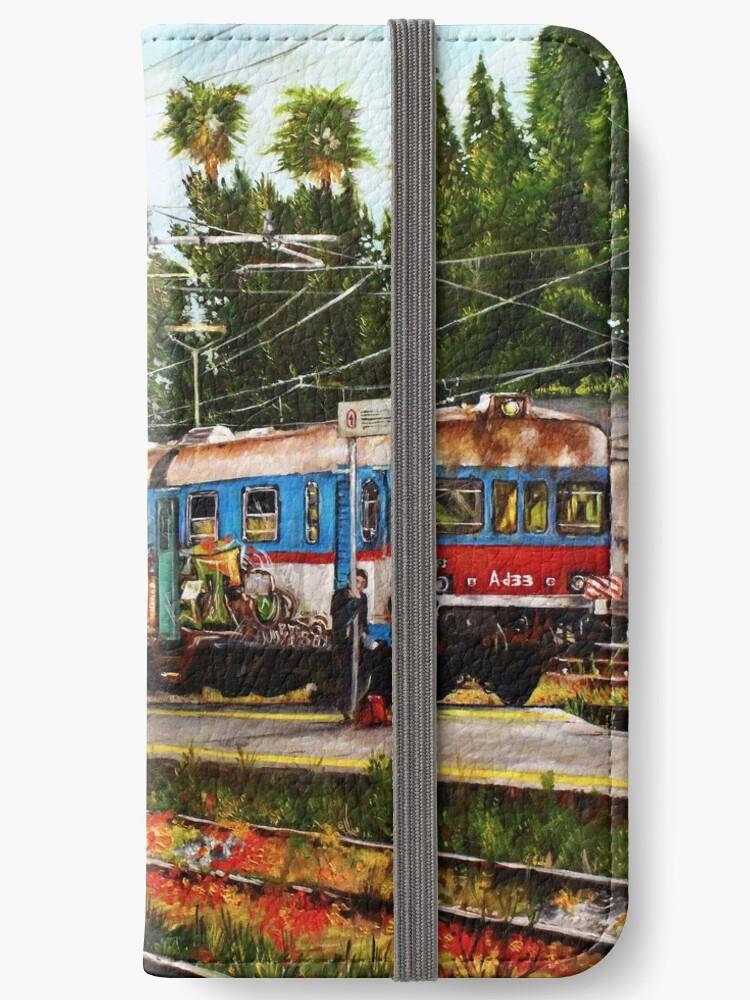 Train - Oil paint by CarellaArt