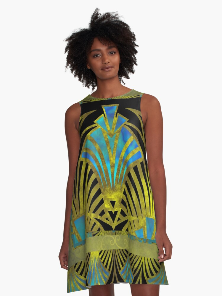 Art Decay A-Line Dress Front