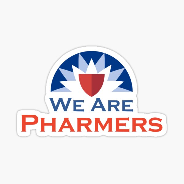 Pharmers Sticker