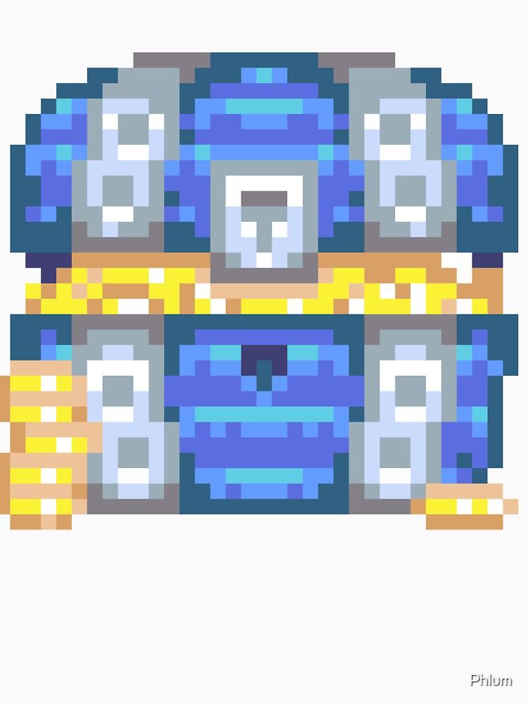 Treasure Chest - Blue by Phlum
