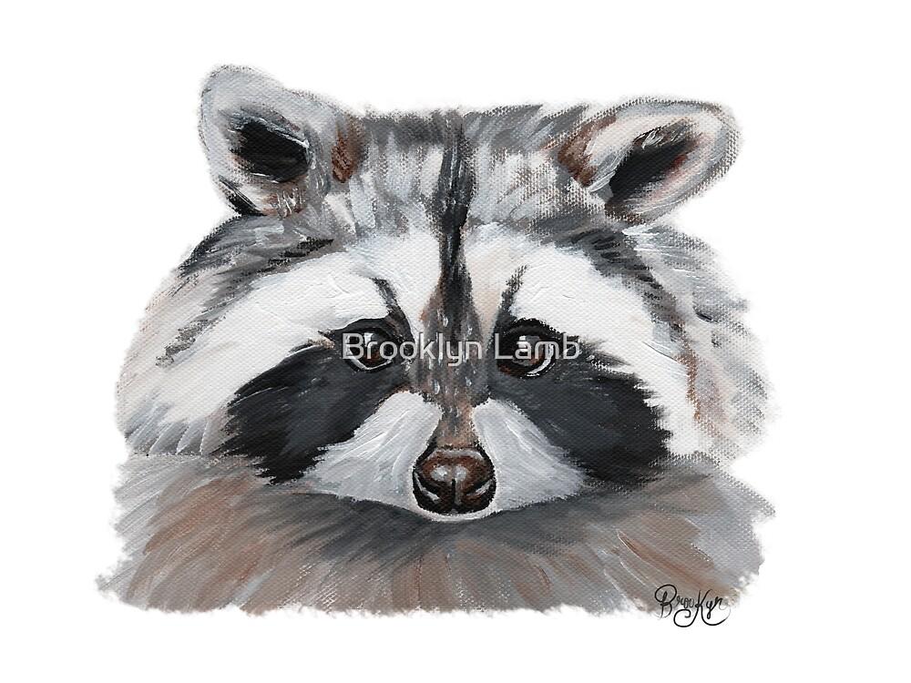 Raccoon by Brooklyn Lamb