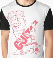 Guitar - Mr. Wordsmith Graphic T-Shirt