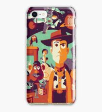 Toy Story - Retro Poster iPhone Case/Skin