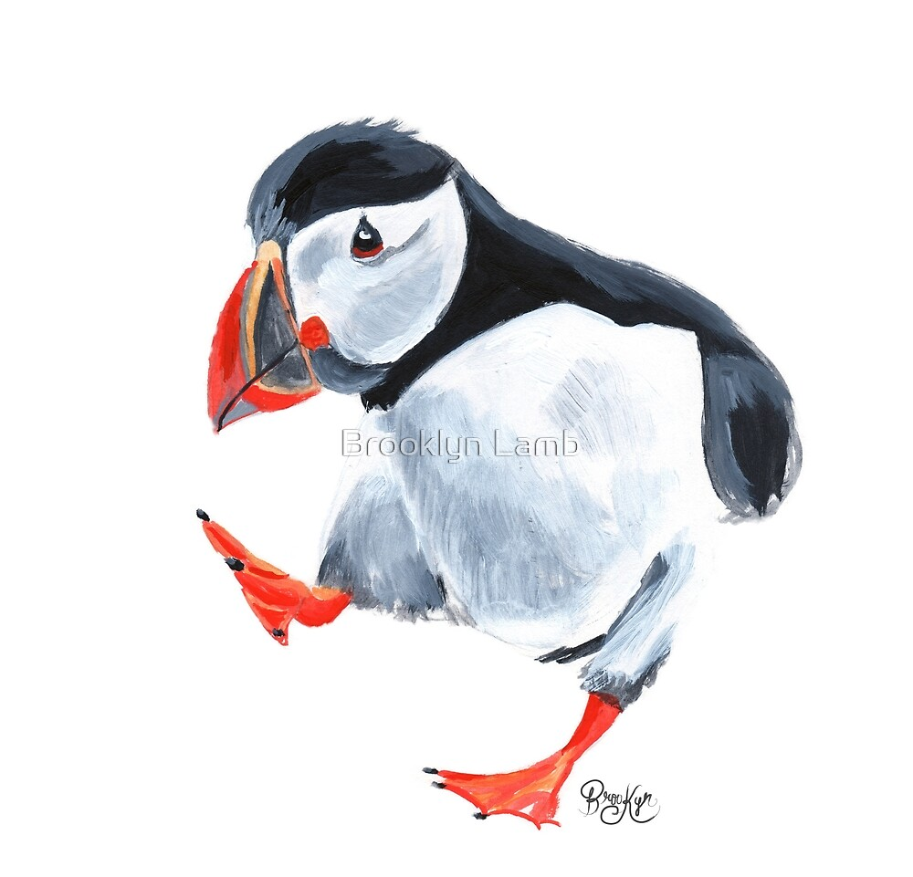 Puffin by Brooklyn Lamb