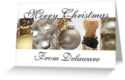 Christmas Collage Card from Delare by Sabbia-Natale
