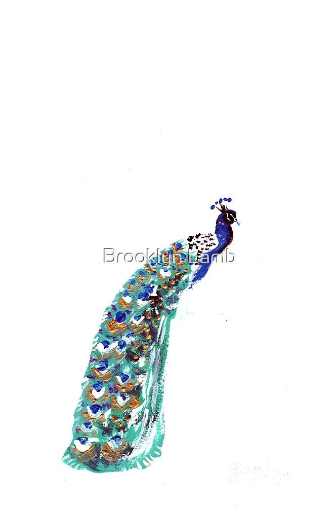 Peacock by Brooklyn Lamb