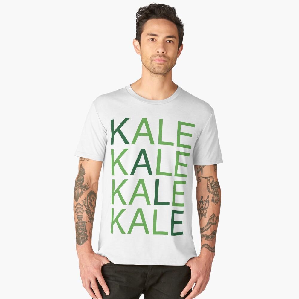 I'm all four kale Men's Premium T-Shirt Front