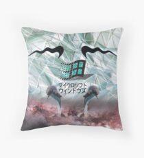 Seapunk Windows Floor Pillow