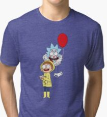 Rick and Morty — It: Part 1 – The Losers' Club Tri-blend T-Shirt