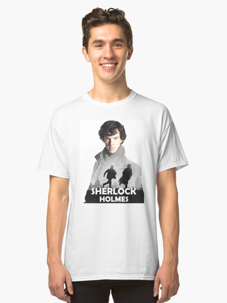Sherlock Holmes Classic T-Shirt Front