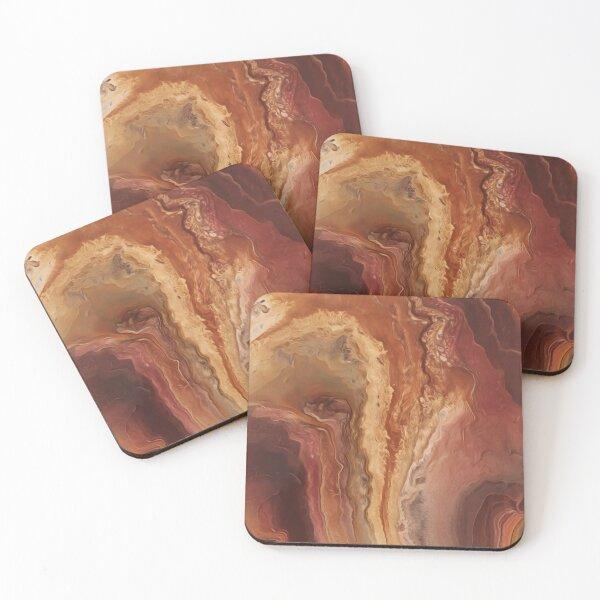 Burnt Sienna Coasters (Set of 4)