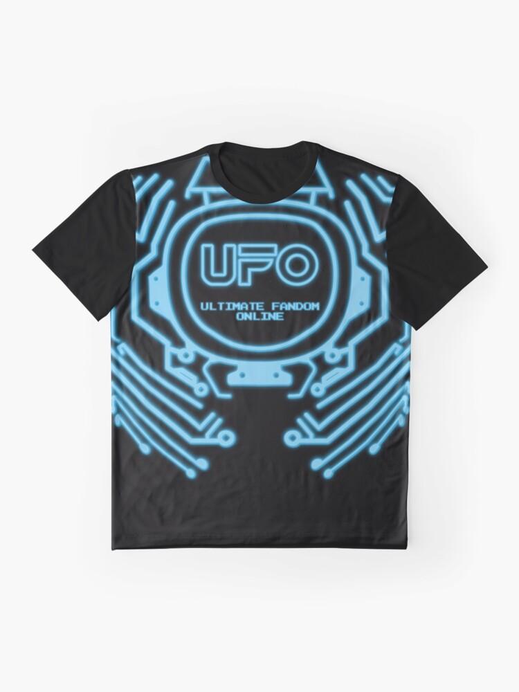 Alternative Ansicht von Ultimatives Fandom Online: Neon Vintage Gamer Grafik T-Shirt