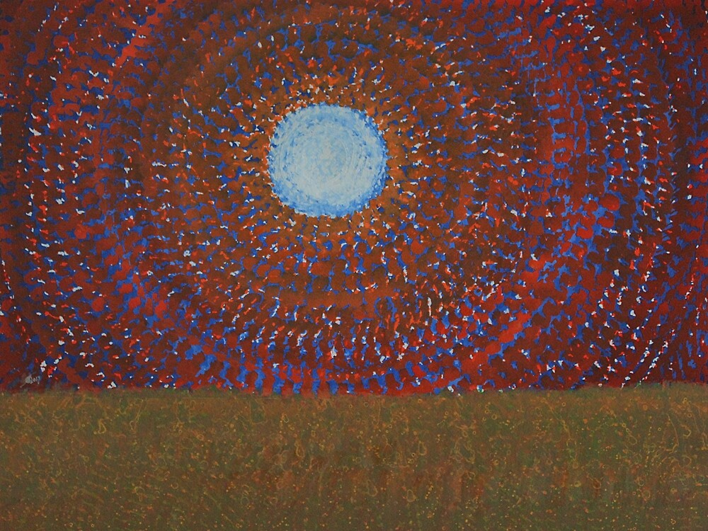 The Difficulty of Crossing a Field original painting by Sol Luckman