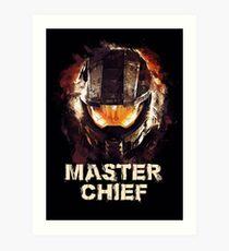Master Chief - MCPON John-117 - HALO Art Print