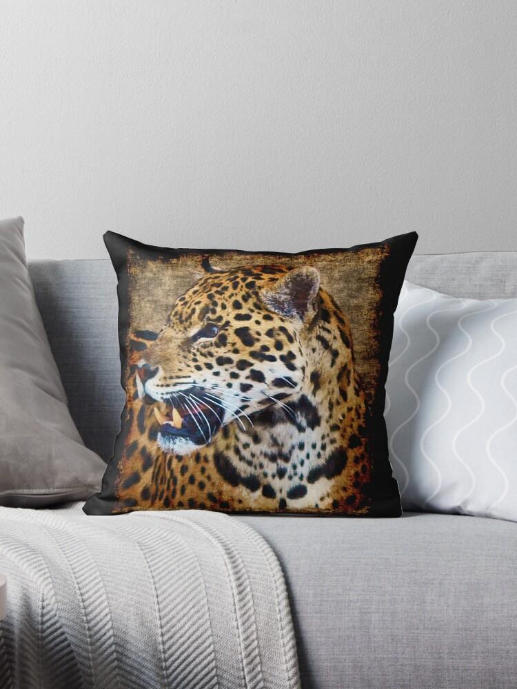Jaguar Wild Cat Animal-Lover Artwork by NaturePrints