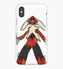 Fire Megaziken iPhone Case/Skin