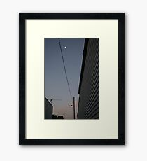 Whats on telly tonight. Framed Print