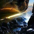 Hug Point Cavern by Jonathan Cohen