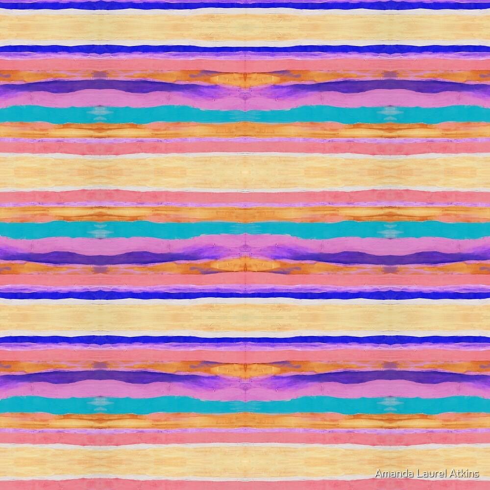 Desert Stripes by Amanda Laurel Atkins