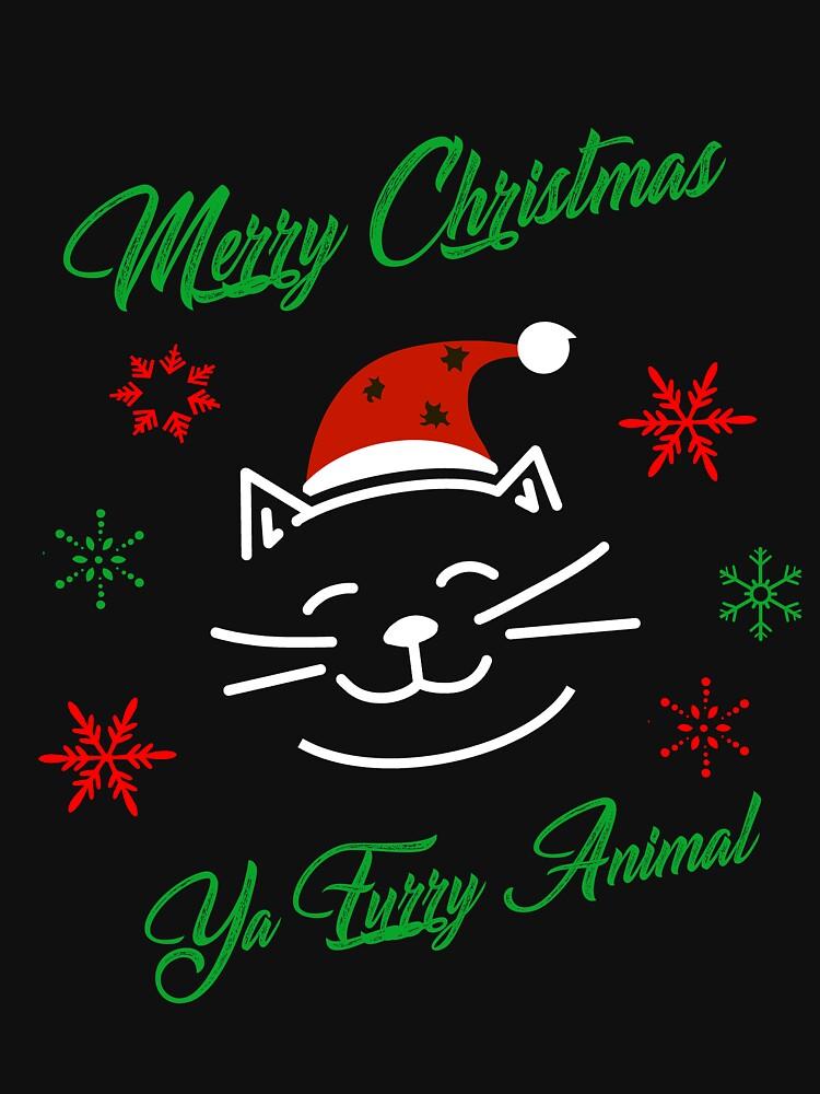 Merry Christmas Ya Furry Animal by triharder12