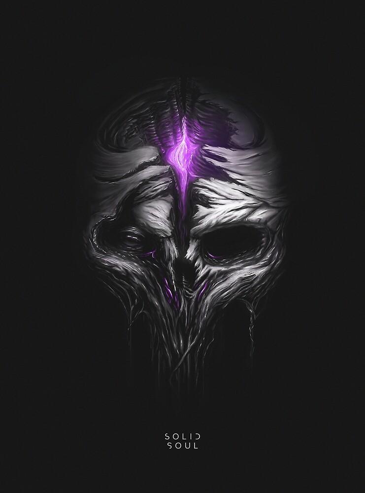 Weird Skull by solidsoulart