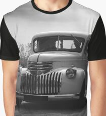 chevrolet truck, black white Graphic T-Shirt