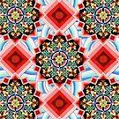 Mandala Waves by PatriciaSheaArt