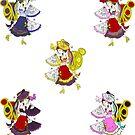 Skydancer Sticker Set by elmidol