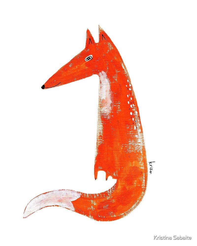 Just a Fox by Kristina Sabaite