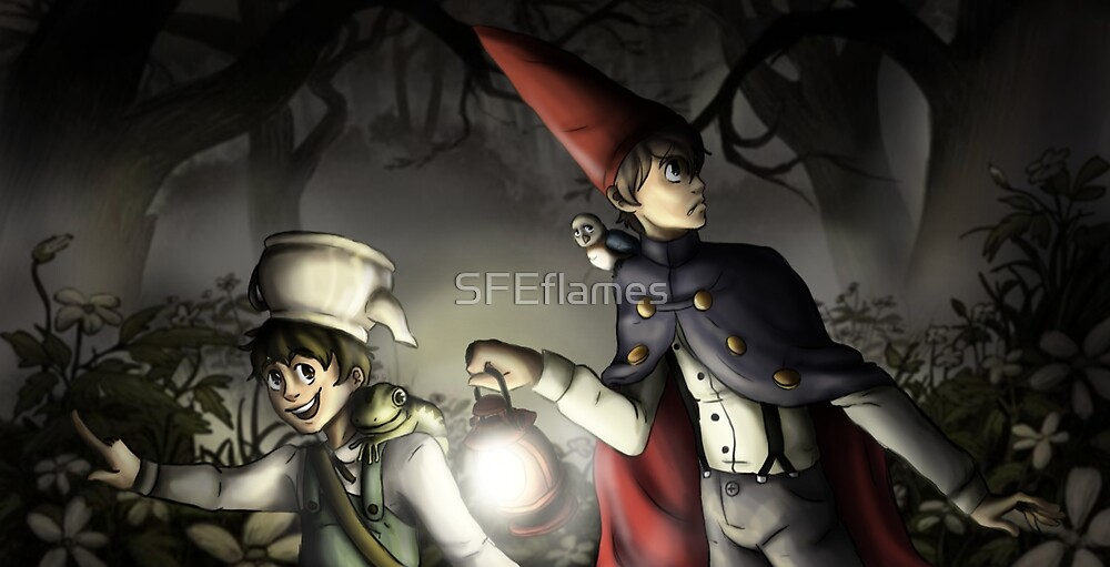 Over the Garden Wall by SFEflames