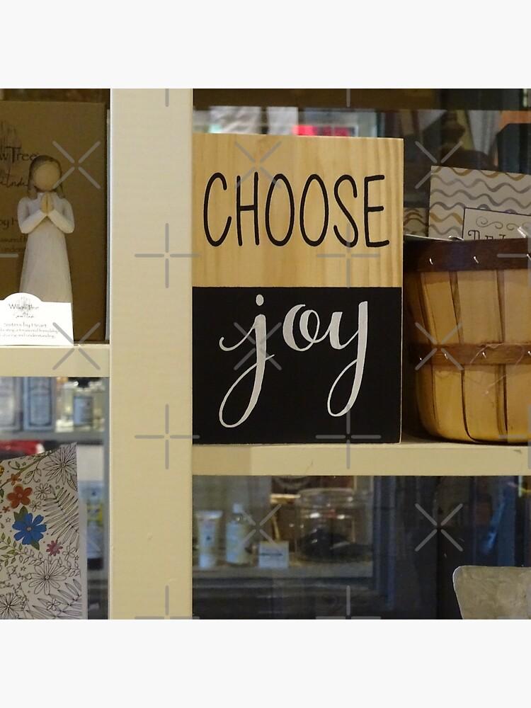 Choose Joy mask, Choose joy pin, Postive message  by PicsByMi